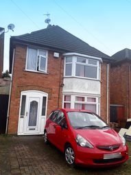 Thumbnail 3 bed detached house for sale in Beech Drive, Leicester