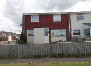 Thumbnail 3 bed end terrace house for sale in Derwent Close, Sacriston, Durham