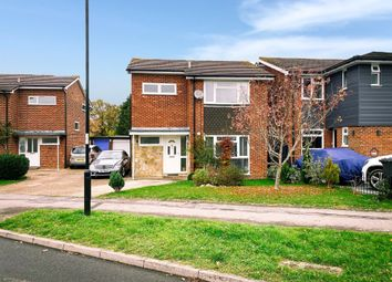Thumbnail 3 bed detached house for sale in Burdocks Drive, Burgess Hill