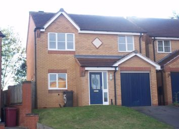Thumbnail 3 bedroom detached house to rent in Bracken Road, Shirebrook, Mansfield