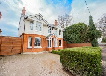Thumbnail 5 bed detached house for sale in The Green, Frogmore, Camberley