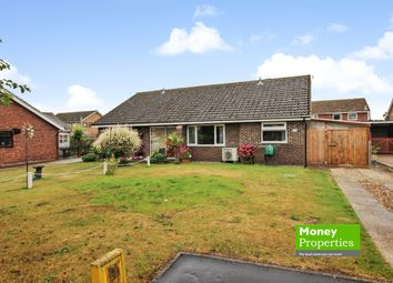 Thumbnail 3 bed semi-detached bungalow for sale in Paddock Gardens, Attleborough