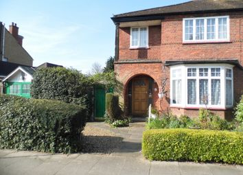 Thumbnail 3 bed semi-detached house for sale in Abbey Road, Bush Hill Park