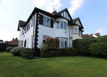 Thumbnail 4 bed semi-detached house for sale in 1 Taunton Drive, Westcliff-On-Sea, Essex