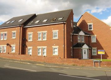 Thumbnail 2 bed flat for sale in Heath Road, Holmewood, Chesterfield