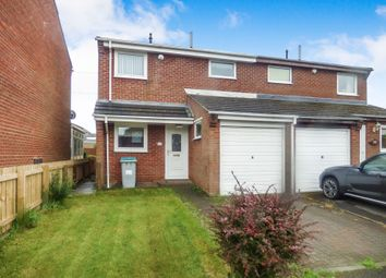 Thumbnail 3 bedroom semi-detached house to rent in Elsdon Gardens, Consett