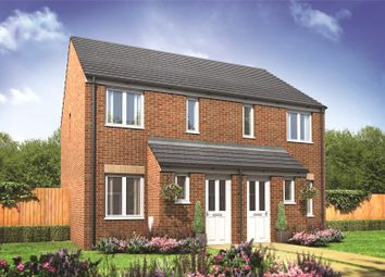 Thumbnail 2 bed semi-detached house for sale in 164 Millers Field, Manor Park, Sprowston, Norfolk