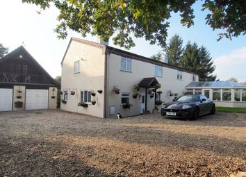 Thumbnail 6 bed farmhouse for sale in Flordon, Norwich