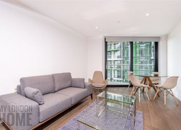 Thumbnail 1 bed flat to rent in Five Riverlight Quay, Nine Elms Lane, Vauxhall, London