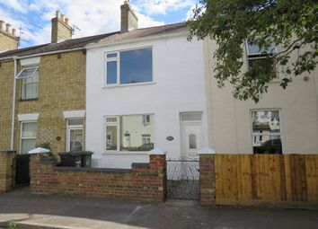 Thumbnail 2 bed terraced house for sale in Queens Walk, Woodston, Peterborough
