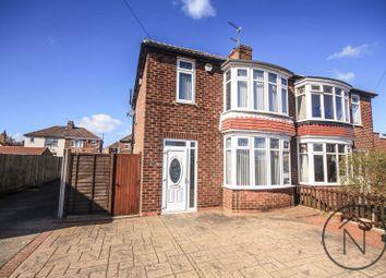 Thumbnail 3 bed semi-detached house for sale in Wolviston Road, Billingham