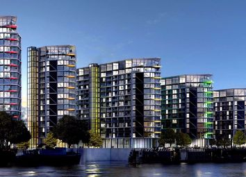 Thumbnail 3 bed flat for sale in Riverlight Quay, Nine Elms, London