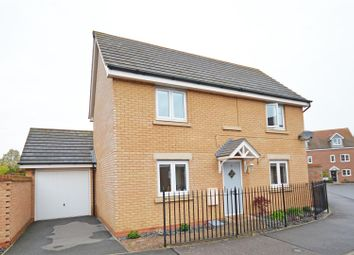 Thumbnail 3 bed detached house for sale in Skye Close, Alwalton, Peterborough
