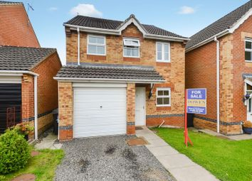 Thumbnail 3 bedroom detached house for sale in 18 Morton Close, Bishop Auckland