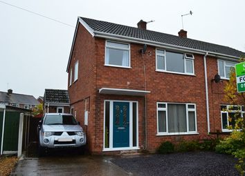 Thumbnail 4 bed semi-detached house for sale in Portland Drive, Market Drayton