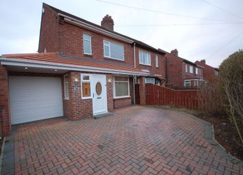 Thumbnail 2 bedroom semi-detached house for sale in Beal Drive, Forest Hall, Newcastle Upon Tyne