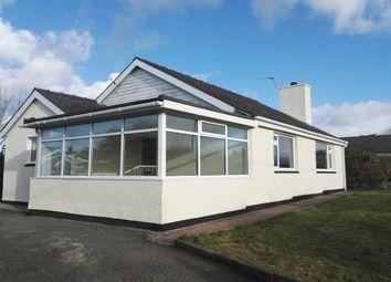Thumbnail 3 bed bungalow to rent in Ffordd Gelli Morgan, Parc Menai, Bangor