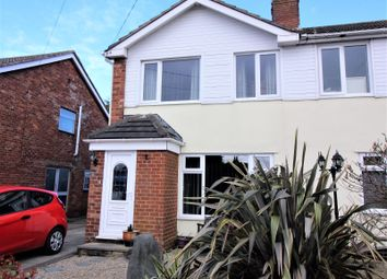 Thumbnail 3 bed semi-detached house for sale in Belvedere Road, Thornton-Cleveleys