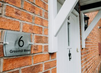 Thumbnail 2 bed end terrace house for sale in Greenhill Mews, Lichfield