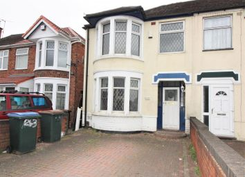 Thumbnail 3 bed property to rent in Cheveral Avenue, Coventry