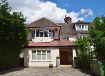 Thumbnail 6 bed semi-detached house for sale in The Ridgeway, London