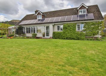 Thumbnail 4 bed detached house for sale in Llanbedr, Crickhowell