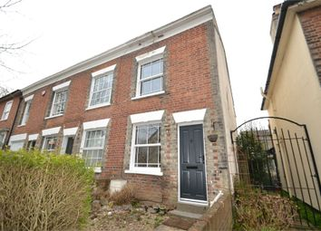 Thumbnail 2 bed end terrace house to rent in Castle Road, Colchester, Essex