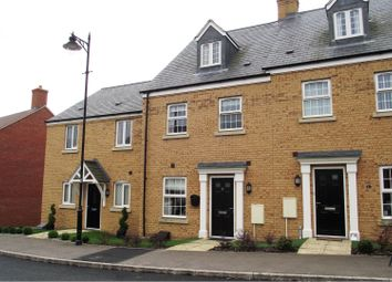 Thumbnail 4 bed town house to rent in College Chase, Silsoe, Bedford