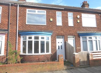 Thumbnail 3 bed terraced house for sale in Wensleydale Street, Hartlepool