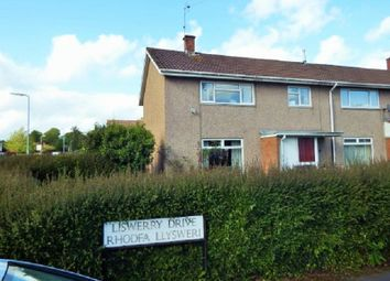 Thumbnail 3 bed end terrace house to rent in Liswerry Drive, Llanyravon, Cwmbran, Torfaen.
