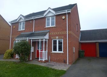 Thumbnail 2 bed semi-detached house for sale in Gavin Close, Leicester, Leicestershire