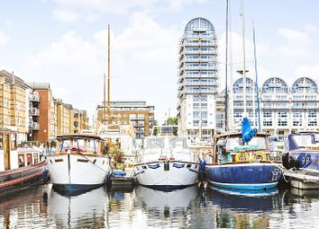Thumbnail 1 bed houseboat for sale in South Dock Marina, Rope Street, London