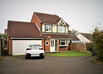 Thumbnail 3 bed detached house for sale in Woodland Close, Markfield