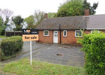 Thumbnail 2 bed semi-detached bungalow for sale in Coronation Avenue, West Winch, King's Lynn