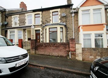 Thumbnail 3 bed terraced house for sale in Upper Wood Street, Bargoed