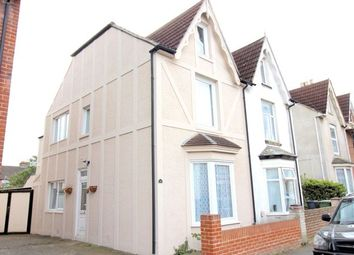 Thumbnail 4 bed semi-detached house for sale in Windsor Road, Cosham, Portsmouth