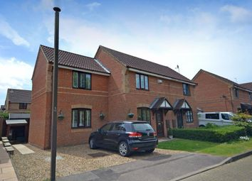 Thumbnail 3 bed semi-detached house for sale in Rodwell Gardens, Old Farm Park, Milton Keynes, Buckinghamshire