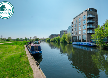 Thumbnail 1 bed flat for sale in Hunts Wharf, Clapton, London