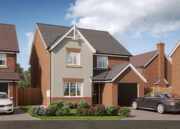 Thumbnail 4 bedroom detached house for sale in Waverton Meadows, Barn End Road, Warton, Tamworth