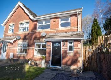 Thumbnail 3 bed semi-detached house for sale in Elmwood Grove, Tredegar