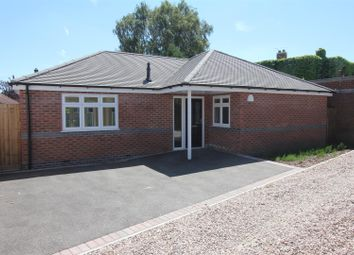 Thumbnail 2 bed detached bungalow for sale in Trafford Road, Hinckley