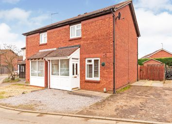 Thumbnail 2 bed semi-detached house for sale in Long Pasture, Werrington, Peterborough