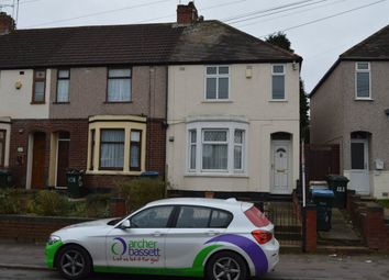 Thumbnail 2 bedroom terraced house to rent in Nuffield Road, Courthouse Green, Coventry