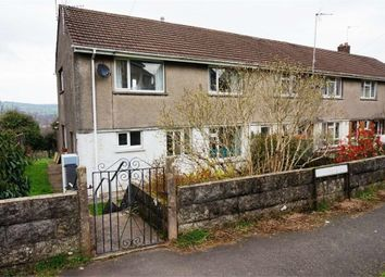 Thumbnail 3 bed end terrace house for sale in Heol Shon, Cefn Cribwr, Bridgend