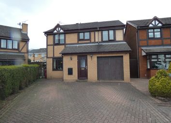 Thumbnail 4 bed detached house for sale in Tarleton Close, Halewood, Liverpool