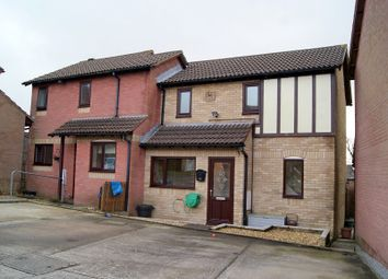 Thumbnail 2 bed semi-detached house to rent in Robins Hill, Brackla, Bridgend.