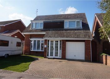 Thumbnail 4 bed detached house for sale in Wren Drive, Bradwell, Great Yarmouth