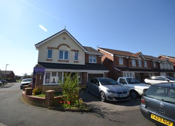 Thumbnail 4 bed detached house for sale in Brackley Avenue, Tyldesley, Manchester