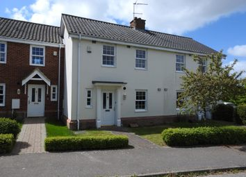 Thumbnail 3 bed terraced house to rent in Cullcott Close, Yoxford, Saxmundham