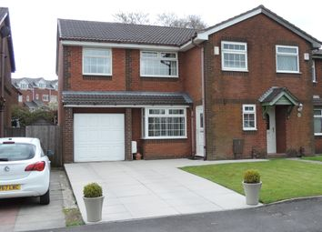 Thumbnail 4 bed semi-detached house for sale in Putney Close, Royton, Oldham
